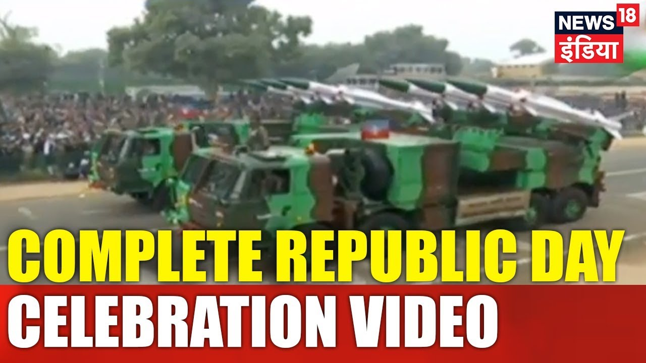 69th Republic Day | Republic Day Parade (Full Coverage)| News18 India