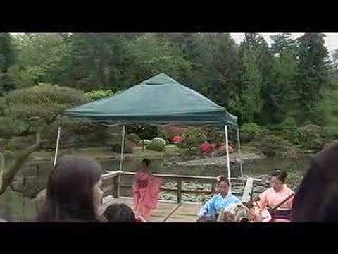 Children's Day at the Japanese Garden in Seattle