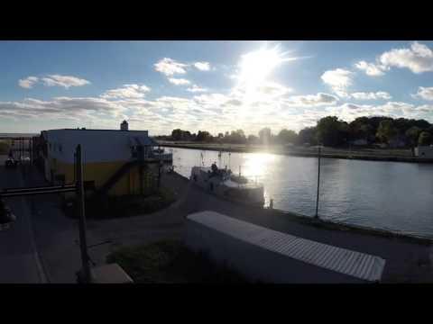 Flying in Port Stanley