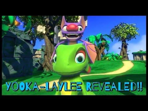 Yooka-Laylee Revealed - Project Ukulele - Banjo-Kazooie Spiritual ...