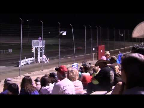Pure Stocks at Lubbock Speedway 8-7-15