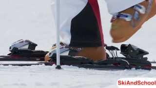 Урок 5.2 - Горные лыжи Привыкание к снаряжению (2)