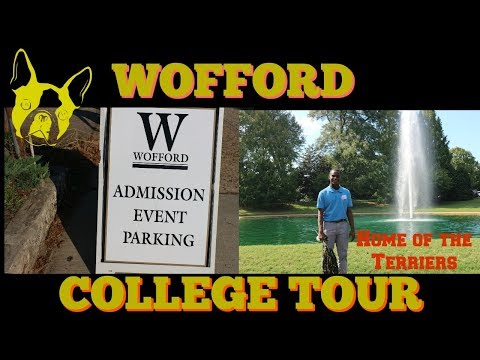 First College Tour|Wofford Tour