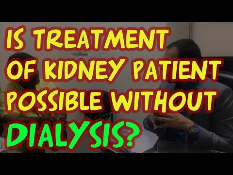 Is Treatment Of Kidney Patient Possible Without Dialysis? Best Kidney Treatment Hospital