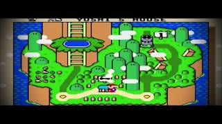 Cover de este Gran vídeo Juego Clásico !!!! SUPER MARIO WORLD !!!! ...