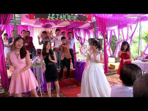 Panama dance - Phiên bản cô dâu nhảy cực sung - rớt luôn ....