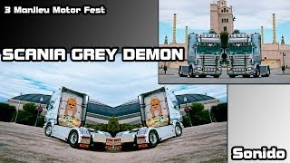 "Catalonia Truck Photos | Sonido de Scania ""Grey Demon"""