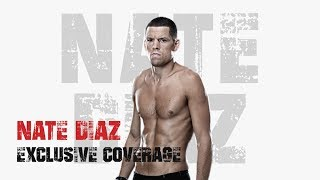 #UFC241 UFC 241:  Nate Diaz Behind The Scenes (At Home Pre Fight)