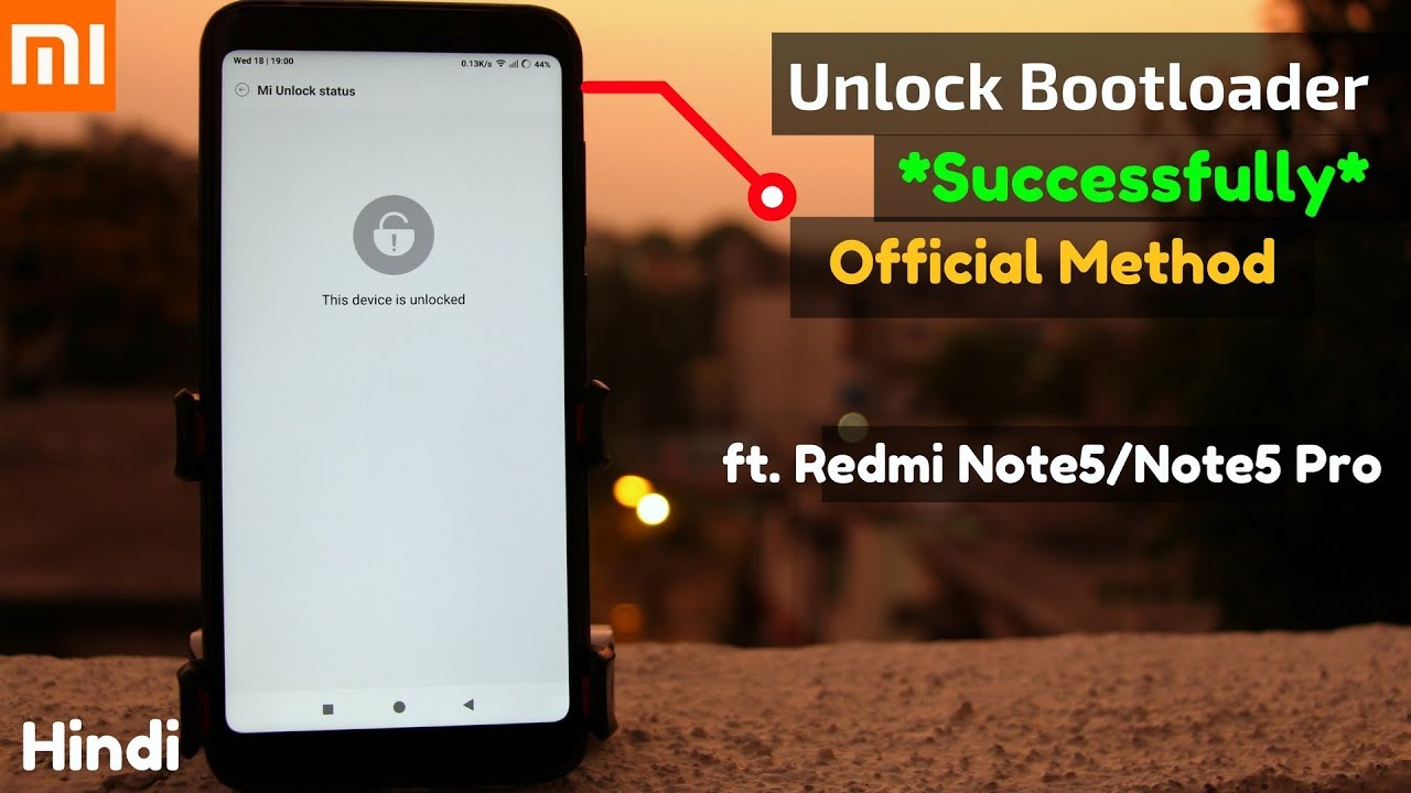 UNLOCK Bootloader Of Any Xiaomi Phone Successfully ft Redmi Note 7/Note 7  PRO/6 Pro   [HINDI]