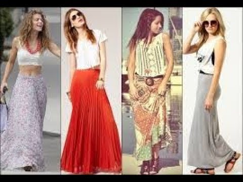 Best long summer skirts 2018