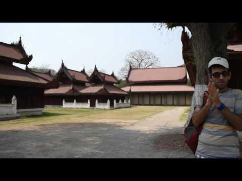 Inside the Mandalay Palace, Myanmar