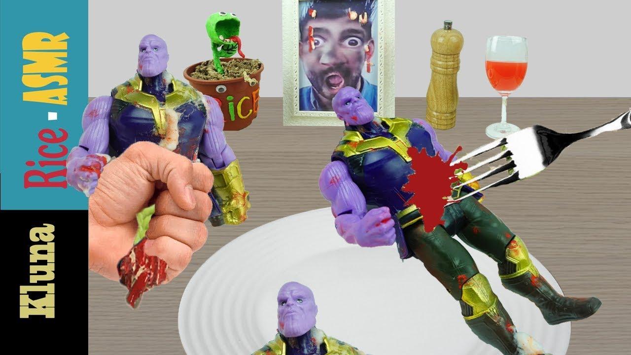 Kluna Tik Eating Thanos Marvel Incredible Kluna Tik Style Dinner 54 Asmr Eating Sounds No Talk