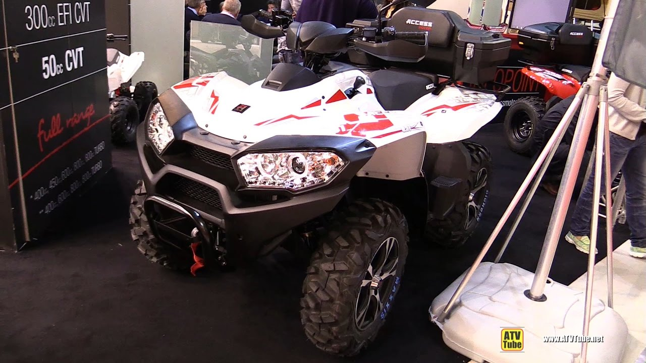 2017 Access Motor AMX 8.57 Recreational ATV - Walkaround - 2016 ...