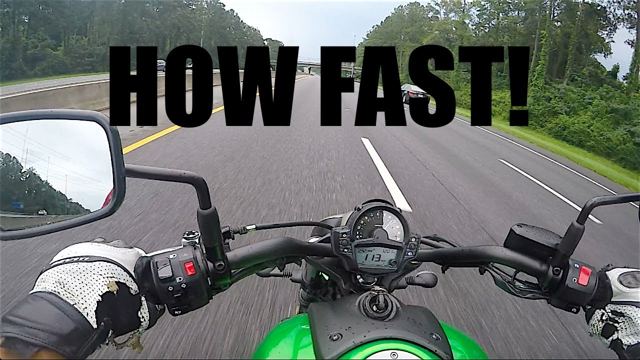 Kawasaki Vulcan 650 Top Speed Review Motovlog