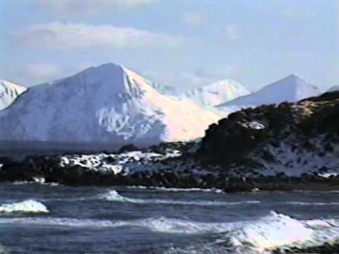 The Great Sitkin Viewed from Adak, AK - 2-4-1995
