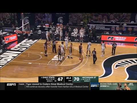 Hail Mary - Last tackle of MSU-OSU basketball
