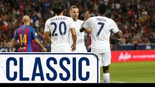 Musa Scores Twice In Stockholm | FC Barcelona 4 Le