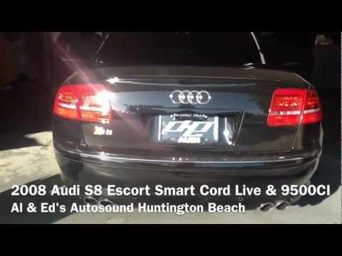 2008 Audi S8 Escort Live Smart Cord Installation w/ 9500CI Radar System