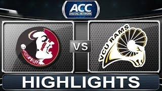 Florida State vs VCU | 2013 ACC Basketball Highlights