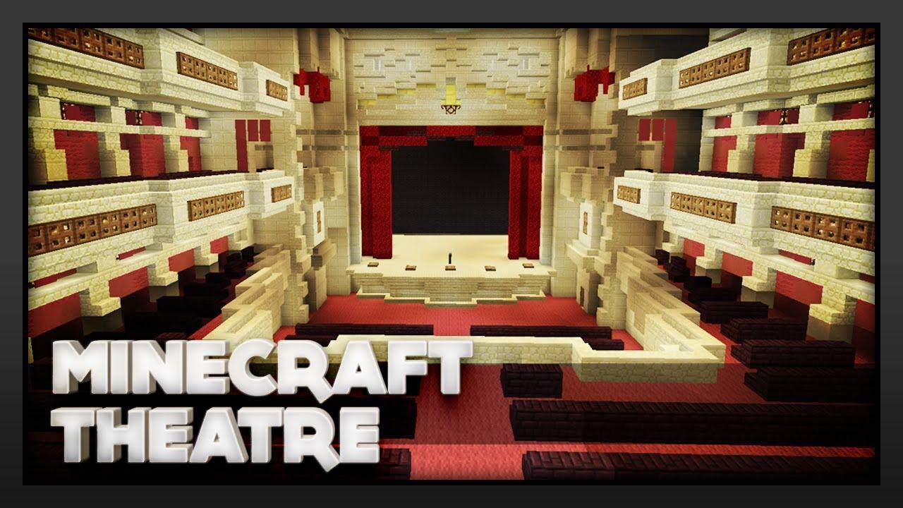 Minecraft Theatre Youtube