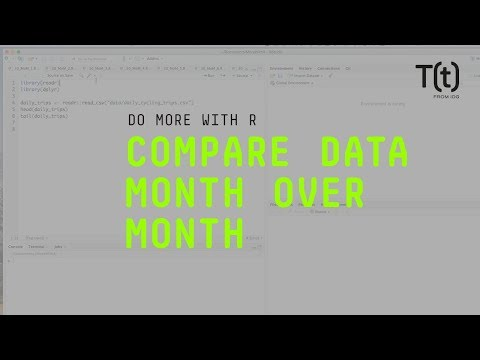 Get Month-over-month Comparisons In R