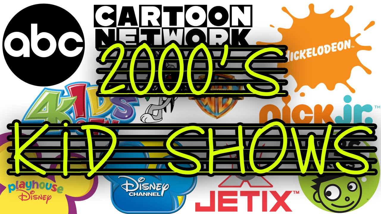 2000s Kid Shows The Ultimate Collection Youtube