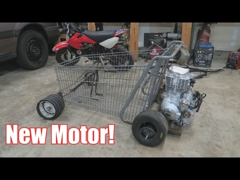 Shopping Cart Go-Kart Build!