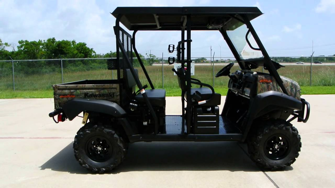 14 999 Fully Accessorized Kawasaki Mule Trans