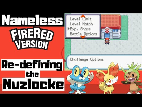 Why Pokemon NAMELESS Fire Red Is The Best Fire Red ROM Hack. Redefining The Nuzlocke. (video Essay)