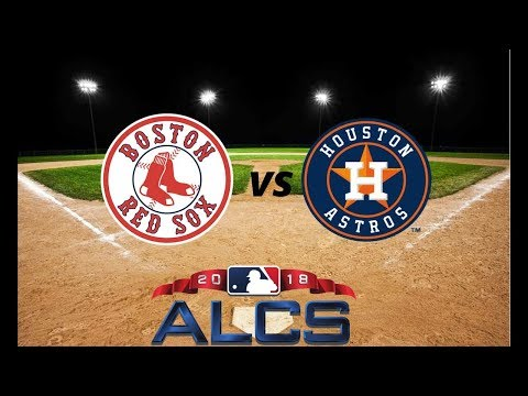 Houston Astros Vs Boston Red Sox ALCS 2018 ( Live Stream )  | Predictions | MLB 18 THE SHOW