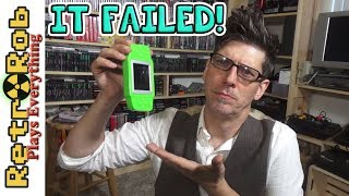 RS-33 Handheld Famiclone Unboxing and Review : The first ever to fail out of testing. Boo!