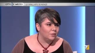 Michela Murgia vs Daniela Santanchè - Otto e mezzo La7 21/1/2014