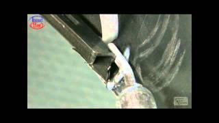 Ремонт трещины в пластиковой детали автомобиля
