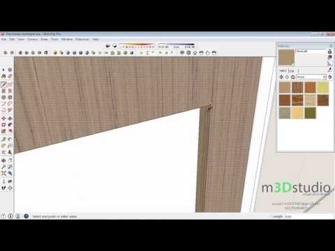 How to build terraced house #6 - adding material and finishing