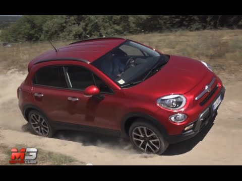 new fiat 500x 2 0 mjet 140 cv at9 4x4 cross 2015 first off road test drive youtube. Black Bedroom Furniture Sets. Home Design Ideas