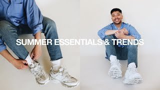 TOP 10 Summer Essentials & Trends 2019 / Men's Streetwear + Fashion Essentials