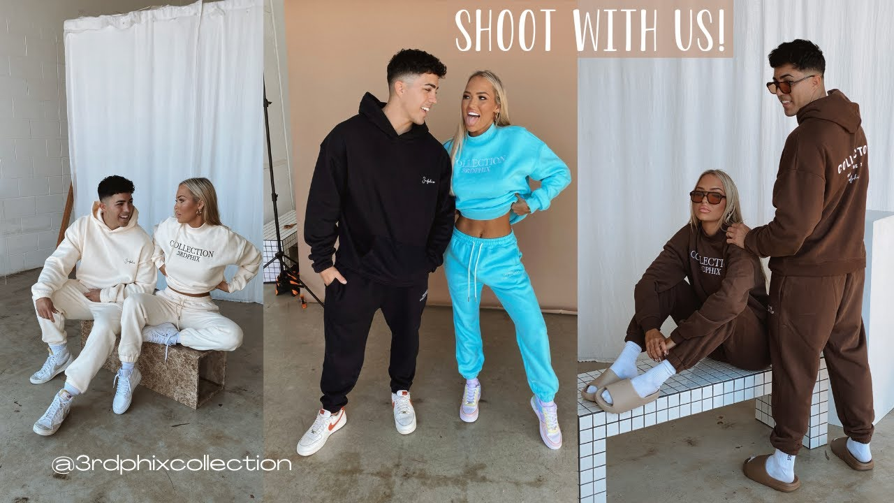 3RDPHIX COLLECTION WINTER DROP! SHOOT WITH US