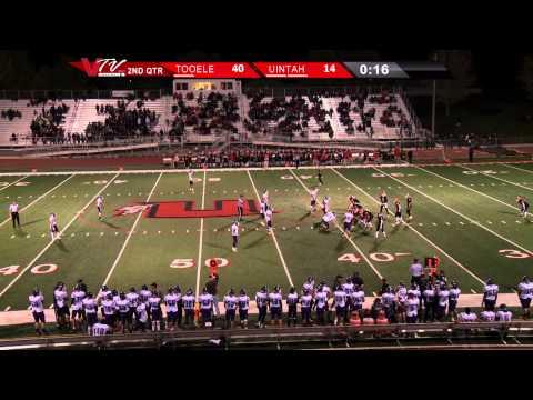 VTV Channel 6 High School Football: Tooele @ Uintah 2014