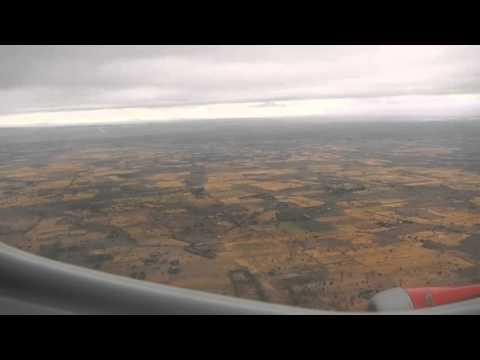Landing approach to JRO