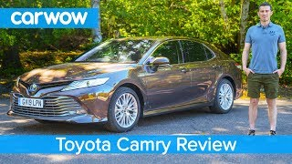 toyota Camry 2020 in-depth review  carwow Reviews