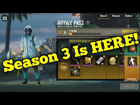 Pubg Mobile Season 3 Is Here Buying The Elite Royale Pass Bundle