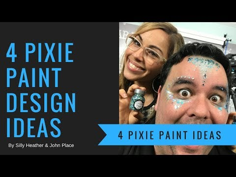 Design Ideas Using Pixie Paint Glitter