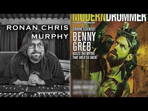 Benny Greb & Ronan Chris Murphy talk drum recording philosophy