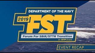 2019 Department Of The Navy Forum For Sbir/sttr Transition   Final Recap