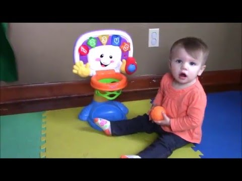 Lilly Reviews Fisher Price Laugh & Learn Basketball Toddler Fun Play