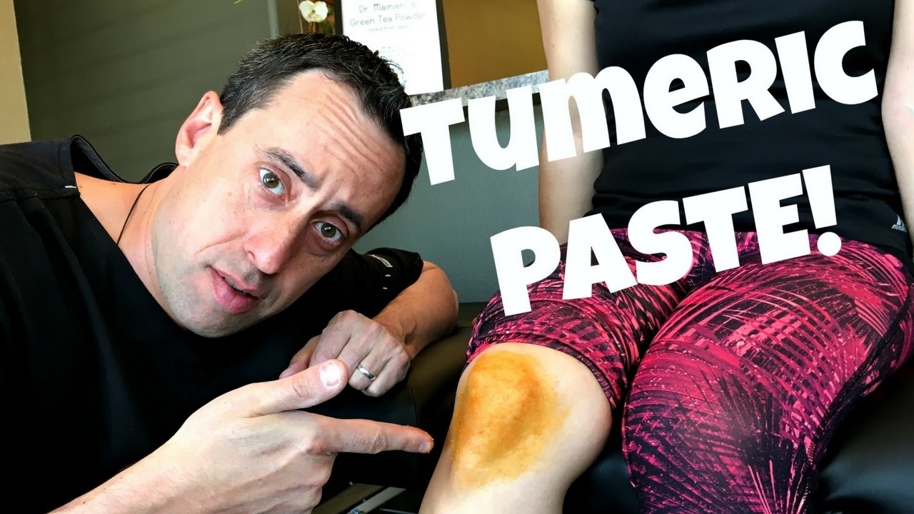 HOW TO MAKE TUMERIC PASTE | TOPICAL JOINT PAIN RELIEF!