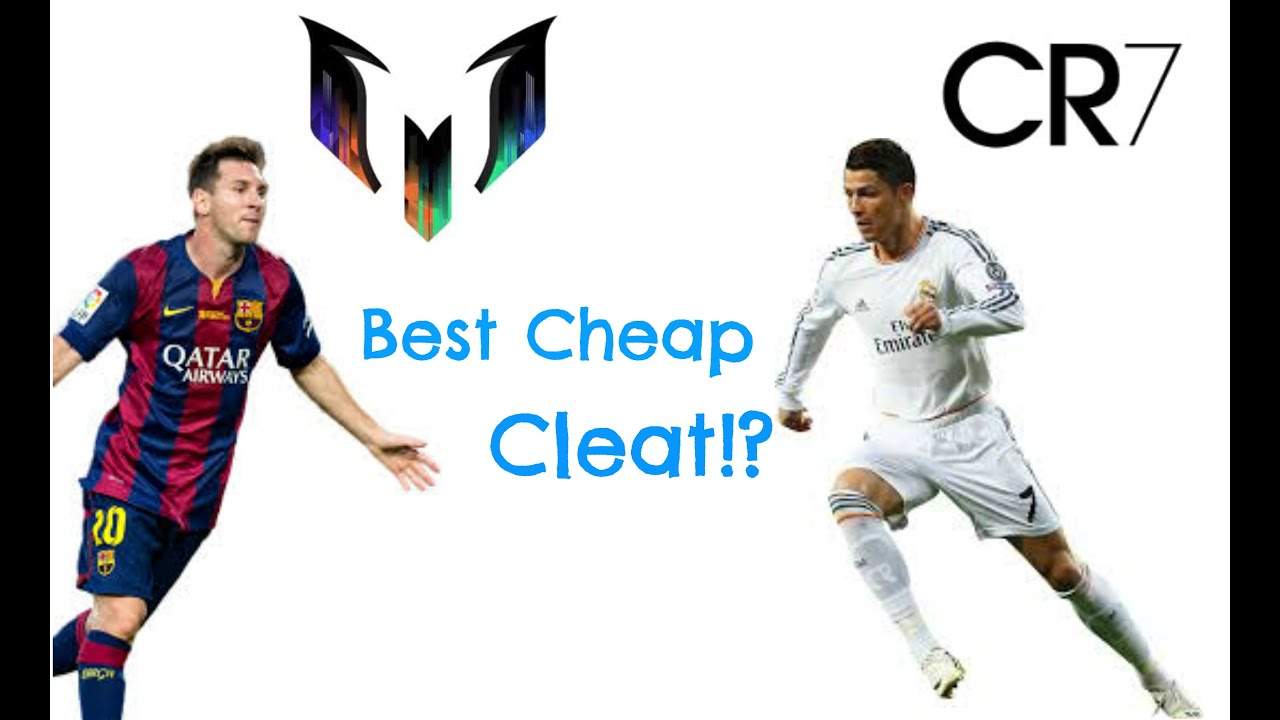 MESSI VS RONALDO Best Cheap Cleat Under 70$!?