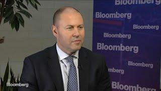 Australia Treasurer Frydenberg on IMF Downgrade, Budget, China
