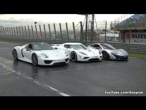 Mclaren P1 Vs Porsche 918 Spyder Vs Koenigsegg Agera R