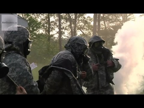 U.S. Army Chemical Biologic Radioactive Nuclear Training